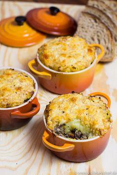 Hachis Parmentier – Kartoffel-Hackfleisch-Auflauf in der französischen Variante   culinary pixel - food & foto blog