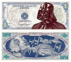 Vader money - yes please!