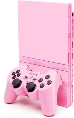 プレイステーション2に限定ピンクバージョン  Limited version of the PlayStation 2 Pink