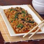 SippitySup Spicy Thai Basil Chicken (Gkai Pad Gka-prow) | SippitySup