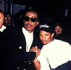 Eazy-E And MC Hammer Straight Outta Compton, Besties, Hip Hop, Mens Sunglasses, Mtv Music, Music Awards, Instagram Posts, Collection, Legends