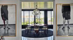 Dining room, interior design, Oitoemponto Architecture & interiors