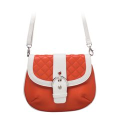 """Leigh-Orange Clutch  Sophisticated — but never stuffy. Classic quilt detailing or sleek animal print cinched with an oversized silver buckle. Fits inside the exterior pocket on your favorite Grace Adele Bag.    •  Faux leather   •  10"""" L, 8"""" H   •  Detachable shoulder strap with 25.5"""" drop    https://myfashions.graceadele.us/GraceAdele/Buy/ProductDetails/10941"""