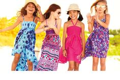 Girls June Clothing Trend Guide | Fun and Flirty Summer Dresses | The Childrens Place #maxidress #shades