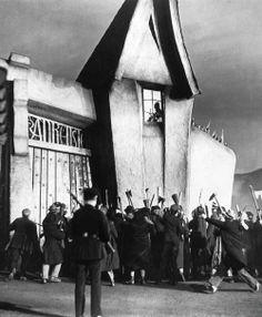 Son of Frankenstein (1939, dir. Rowland V. Lee) Expressionistic set design by art director Jack Otterson.