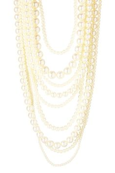 For the Fashionista! $75.00  50% off MSRP Today Only!  Over-the-Top Pearl Statement Necklace by Day to Night: Jewelry Event on @HauteLook