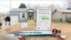 A heart-warming display of Habitat for Humanity taking care of our neighbors this holiday season.