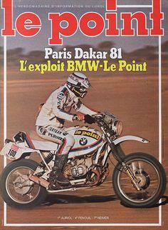 Hubert Auriol - Paris Dakar 1981 f7919d4a6c