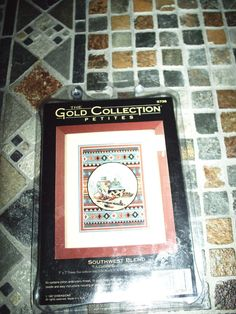 counted cross stitch kit dimensions gold collection 6738 southwest blend 1997 #Dimensions