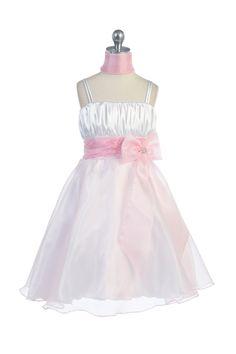 4ee147584f9 Flower Girl Dresses at GirlsDressLine.Com. Coral Flower Girl DressesGirls  ...