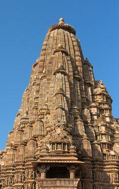 Mahadev Temple, Khajuraho, India Indian Temple Architecture, Asian Architecture, Ancient Architecture, Beautiful Architecture, Temple India, Hindu Temple, Angkor, Khajuraho Temple, Hampi