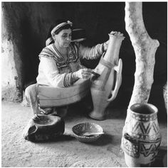 Methods dating back to the Roman era are still employed in the production of pottery by women of the Kabylia and Aures mountains, Algeria.