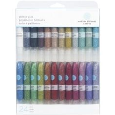 Excellent for glitter nails, and fun designs! Great price, for all the colors.. make sure to put a layer of polish underneath glitter glue! Comes off with Acetone remover.