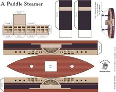printable steam boat (plus many more free 3-D printable crafts!)