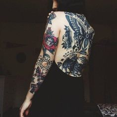 A Little Piece Of Mind More #TraditionalTattoos