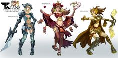 CHRIS J. ANDERSON'S Latest Concept Art: CHARACTERS - Other IP's