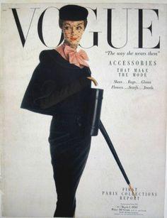 Jean Patchett, 1940s-50s Top Model   Vogue 1950