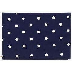 Kate Spade Charlotte Street Placemat ($10) ❤ Liked On Polyvore Featuring  Home, Kitchen · Blue PlacematsKitchen Dining TablesHome KitchensTable Linens Navy ...