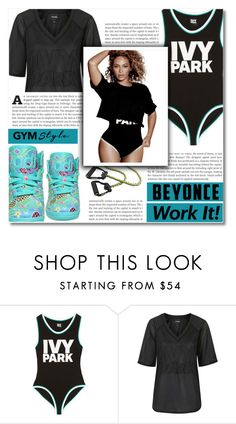 """""""Slay All Day: Style Beyonce's Ivy Park!"""" by dolly-valkyrie ❤ liked on Polyvore featuring Ivy Park, Topshop, adidas and Beyonce"""