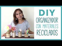 DIY Organizador con Materiales Reciclados   bonito y económico