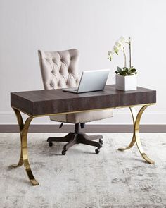 Bernhardt Jeffery Writing Desk