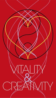 Banner to announce the 'Vitality & Creativity' Workshop - Design © 2015 Lode Coen