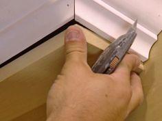 brief mantle shelf DIY
