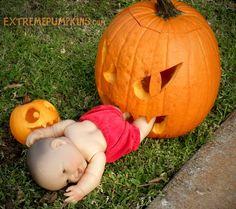 Scary Halloween Pumpkins, Halloween Pumpkin Designs, Scary Halloween Decorations, Outdoor Halloween, Halloween Party Decor, Diy Party, Party Ideas, Funny Halloween, Scary Pumpkin Faces