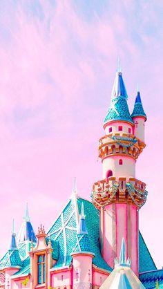 Matt Crump photography iPhone wallpaper Pastel Disney