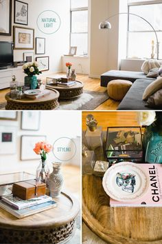 COFFEE TABLE STYLING |