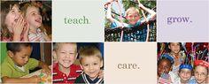 teach. care. grow. Peppermint Stick Childcare #daycare #preschool #grayslake #roundlake