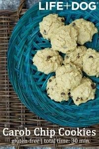Recipe: Homemade Carob Chip Cookies for your Dog - Life And Dog