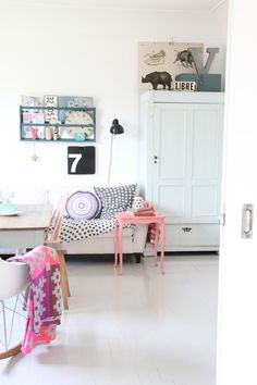 Une déco girly made in Norvège - Frenchy Fancy -