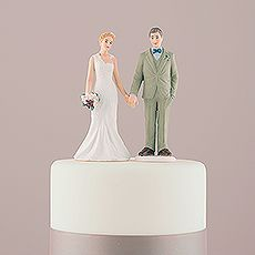 46d59918d8 Woodland Bride and Groom Porcelain Figurine Wedding Cake Topper $29.98 CAD  // 2 designs available