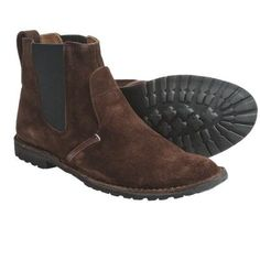 $80, Earthkeepers Original Handcrafted Chelsea Boots Suede Brown Suede by Timberland. Sold by Sierra Trading Post. Click for more info: http://lookastic.com/men/shop_items/48160/redirect