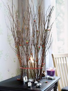 tree branches for decorating weddings | 20 Cool Ideas To Decorate Your Interior With Tree Branches » Photo 20