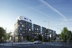 Collective housing, Colombes (France) [FULL CGI] on Behance