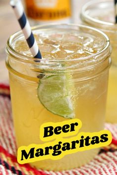 Beer Margaritas recipe from RecipeGirl.com #beer #margaritas #recipe #RecipeGirl Best Appetizer Recipes, Best Cocktail Recipes, Best Salad Recipes, Beer Recipes, Easy Delicious Recipes, Best Appetizers, Best Dessert Recipes, Most Pinned Recipes, Most Popular Recipes