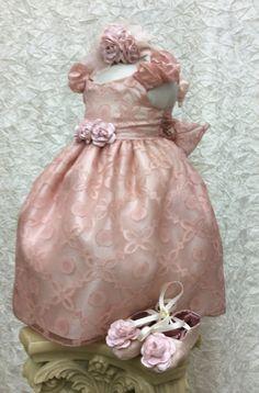 Eugenia infant silk organza baby girl by ElenaCollectionUSA
