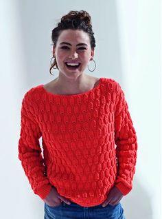 Brei met gratis breipatroon een damestrui Phil Noe van Phildar. Vandaag besteld voor 16:00 uur, dezelfde dag verzonden. Crochet Easter, Crochet Snowman, Knitting Paterns, Crochet Patterns, Diy Tricot Pull, Free Crochet, Knit Crochet, Crochet Hooks, Double Crochet