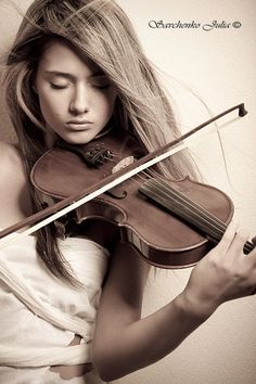 girl with violin photography - Google Search
