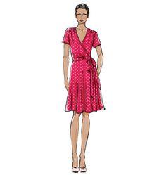 V8896   Misses' Dress   Very Easy Vogue   Vogue Patterns