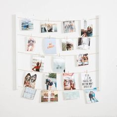 20 Fun DIY Wine Cork Craft Ideas for Unique and Budget-Friendly Décor - The Trending House Polaroid Display, Polaroid Wall, Polaroid Ideas, Polaroid Pictures Display, Teen Room Decor, Bedroom Decor, Bedroom Ideas, Bedroom Lighting, Wood Bedroom