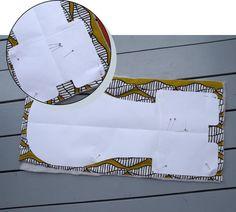Ikea Hochstuhl Antilop - kostenloses Schnittmuster