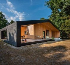 10 Most Popular Minimalist Container House Design Ideas For Best Inspirations Tiny House Design Container design House ideas Inspirations Minimalist Popular Modern Barn House, Modern House Design, Minimalist House Design, Minimalist Architecture, Interior Architecture, Tiny House Cabin, Container House Design, House In The Woods, Future House