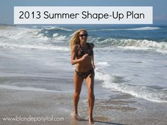 Summer Shape Up Plan: 4 Weeks of FREE workouts you can do anywhere!