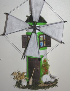 Artesanato em telhas