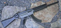 Ruger 10/22 .22LR modded inside a softair HK  MP-5 chassis