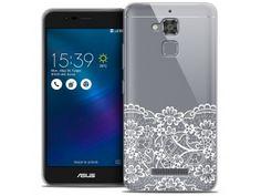 "Coque Crystal Gel Asus Zenfone 3 Max ZC520TL (5.2"") Extra Fine Spring - Bas dentelle - 7,90 €"