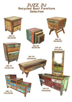 ANTIQUES TEAK BEDS - BALI FURNITURE - Juzz Ju Selections